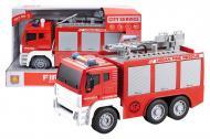 Машинка інерційна YG Toys Пожежна 35,5x14,5x21 см Червоний (WY850A)