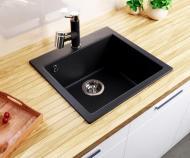 Мийка для кухні Smart House Peste гранітна Чорний