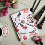 Блокнот майстра краси Figasse Рожевий