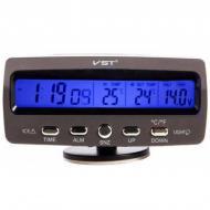 Термометр з годинником VST-7045V з підсвічуванням (НФ-00006256)