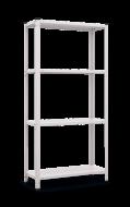 Стелаж металевий Меткас РЕК 1 1500x750x300 мм 35 кг/полку (РЕК 1)