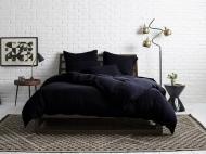 Комплект постельного белья евро Еней-Плюс МІ0025 Черный