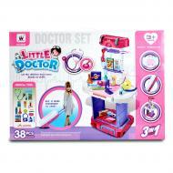 Дитячий набір Little Doctor Лікарі в валізі 38 предметів