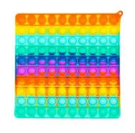 Игрушка-антистресс Pop It Большой квадрат Нажми пузырь (60ef7429)