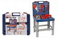 Ігровий набір A-Toys столик з інструментами 39,5х35х7,5 см Синьо сірий (008-21)