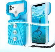 Водонепроникний чохол для телефону Vela Sport 5.0 Max 6,8 дюймів Синій (00466)