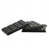 Комплект силіконових підставок під чашку Flora Шоколад 4 шт 45144