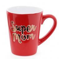 """Чашка керамическая Flora """"Super Mom"""" 0,34 л (31615)"""