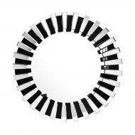 Зеркало настенное Kayoom Apollon 910 Черный/Серебристый (YHZP8)