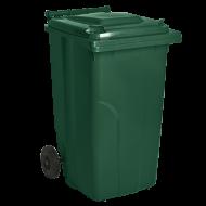 Бак для мусора на колесах с ручкой Алеана 240 л