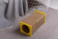 Когтеточка Pets Lounge Tunnel Yellow