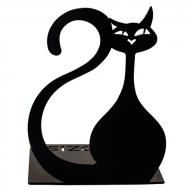 Упор для книг Glozis Black Cat G-024 16х12 см