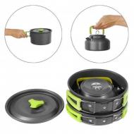 Набор посуды походный Cooking Set DS-308 3 предмета (0038129)