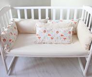 Бортики в детскую кроватку 30х60 см 6 шт (LAM22)