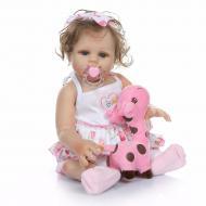 Кукла силиконовая Реборн NPK DOLL девочка Соня 48cм с возможностью купать