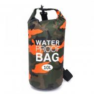 Гермомешок VelaSport Dry Bag 10L водонепроницаемый 29,5х55 см Оранжевый (00481)
