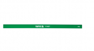 Карандаш строительный YATO 245х12 мм 144 шт Зеленый (YT-6927)