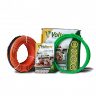 Нагрівальний кабель Volterm 6,8 - 8,5 м² 1200Вт 68м HR18 1200
