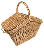 Плетений кошик-пікнік з лози