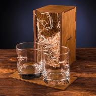 Набор стаканов для виски с пулей 7,62 мм 300 мл 2 шт
