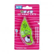 Корректор ленточный M&G Cats 5 мм длина 6 м в блистерной упаковке (ACT11874)