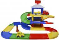 Ігровий набір Wader Play Tracks Garage 3 поверхи 53030
