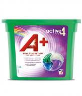 Гель-капсули для прання А+ 4в1 Colour для кольорової білизни 14 шт.