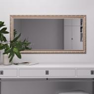 Зеркало Black Mirror Беж с патиной серебра 100х70 (5826A-308)