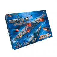 Настільна гра Danko Toys Морський бій з ігровим полем 374 фішок G-MB-02U