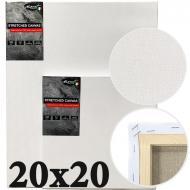 Полотно на підрамнику італійська бавовна середнє зерно Monet 20х20 см (MP2020)