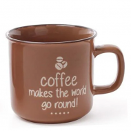 Чашка керамическая Flora Coffee 0,45 л (31330)