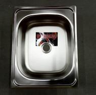 Кухонная мойка Platinum 4050 Сатин 0,5/160 врезная из нержавеющей стали