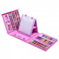 Набір для малювання та творчості UKC Super Mega Art Set в валізці з мольбертом 208 предметів
