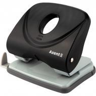 Дырокол Axent Welle-2 до 30 листов Черный (3830-01-A)