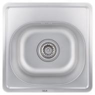 Кухонная мойка ULA Micro Decor стальная нержавеющая