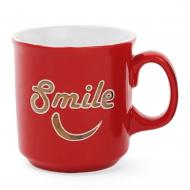 Чашка керамическая Flora Smile 0,475 л (31396)