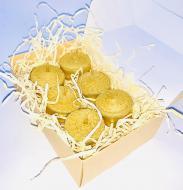 Набор чайных восковых свечей из вощины BeesWax Таблетка 6 шт. (963)