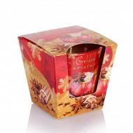Свеча ароматическая Flora Christmas Time с корицей и специями (28704)