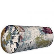 Подушка валик Разноцветная покраска 42x18 см (PV_JOY002)