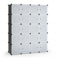 Шафа модульна Vicco 145х180 см 20 комірок
