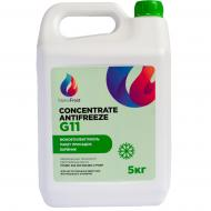 Концентрат антифриза NanoFrost G11 5 кг Зеленый