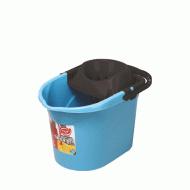 Ведро для швабры с отжимом Elif 13 л Голубой (380)