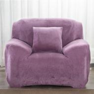 Чохол на крісла Homytex універсальний замш/мікрофібра Бузковий (6-12228)