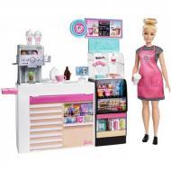 Лялька Барбі гра кав'ярня babrie coffeу shop playset Mattel