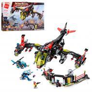 Конструктор детский Qman 2721q самолет/вертолет/фигурка 1013  дет