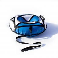 Надувные санки-ватрушка Kospa 100 см Усиленный Голубой/Белый (099)
