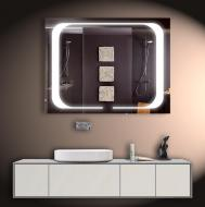 Зеркало Sunlight с LED подсветкой 800х600 мм (Sun-46)