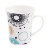 Чашка фарфоровая Flora Геометрия 0,37 л (31559)