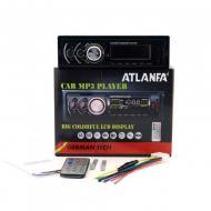 Автомагнитола с 4-я выходами и радиатором охлаждения ATLANFA-1785 Черный (ty-43)
