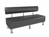 Диван офісний BNB Mini 150 см Чорний